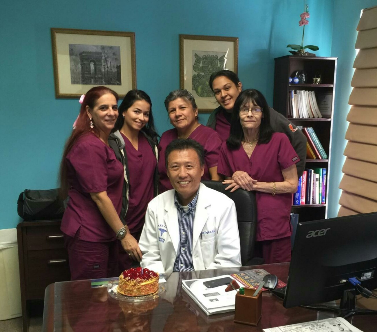 Happy Birthday Chiapone Ting, MD! - Safecare Medical Center