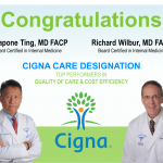 Cigna Ranks Safecare's Physicians as Top Performers
