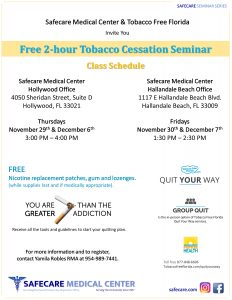 Tobacco Cessation Seminar